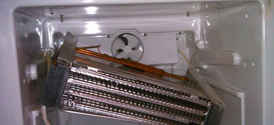 Замена вентилятора на золодильнике